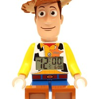 LEGO Kids&#x27; Toy Story Woody Mini-Figure Alarm Clock