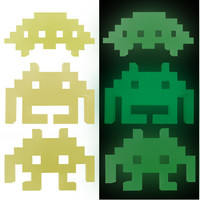 GLOW IN THE DARK INVADERS