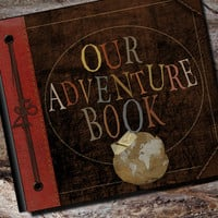 Our Adventure Photo Album or Scrapbook