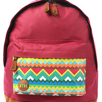 Mi-Pac The Native Backpack in American Red : Karmaloop.com - Global Concrete Culture