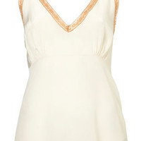 Premium Silk Lace Trim Cami - New In This Week  - New In  - Topshop
