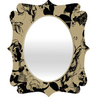 DENY Designs Home Accessories | Pattern State Foxy Loxy Quatrefoil Mirror
