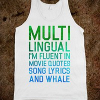Multilingual - Quotes and Sayings - Skreened T-shirts, Organic Shirts, Hoodies, Kids Tees, Baby One-Pieces and Tote Bags