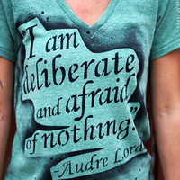 femisit tshirt Audre Lorde Author Poet by rainbowalternative