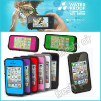New Waterproof Shockproof Life Snow Dirt Proof Cover Case For iPhone 4 4G 4S