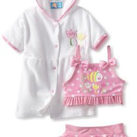 Baby Bunz-Girls Infant Dotty Fish Tod: Clothing