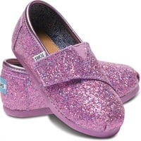 Lilac Tiny TOMS Glitters | TOMS.com