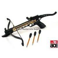 Amazon.com: 80 Lbs Self Cocking Crossbow Pistol Cross Bow 15 Arrows: Sports &amp; Outdoors