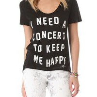 291 Concert Uneven Hem Tee | SHOPBOP