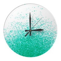 fresh mint flavor clock from Zazzle.com