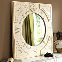 Compass Mirror | Pottery Barn