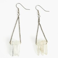 Clear As Crystal Earrings