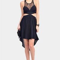 Infinite Cut Out Dress - Black