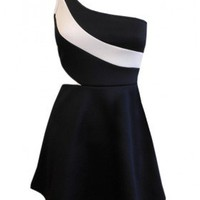 The One Shoulder Manhattan Dress