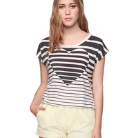 Striped Heart Top | HERITAGE 1981 - 2000034732
