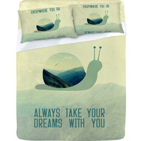 DENY Designs Home Accessories | Belle13 Always Take Your Dreams With You Sheet Set