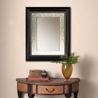 Illuminada - Antique Gold Beaded Scroll Mirror (8881) - Decorative - Mirrors