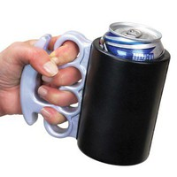 Brass Knuckles Drink Kooler - Whimsical & Unique Gift Ideas for the Coolest Gift Givers