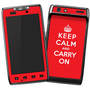 Droid Razor Keep Calm and Carry On Skin