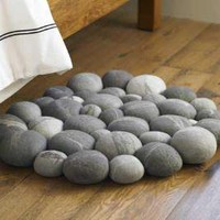 VivaTerra - Clustered Felted Stone Mat [out of stock]