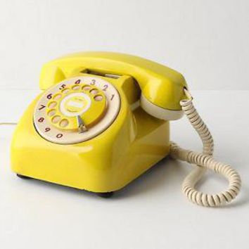 Vintage Rotary Phone-Anthropologie.com