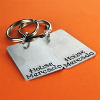 Game of Thrones Custom House Key Chain Set - Spiffing Jewelry