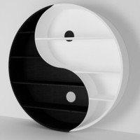 max yin yang bookcase