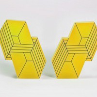Merge Earrings from Lianna Sheppard // Ocular | Made By Lianna Sheppard | £16.00 | Bouf