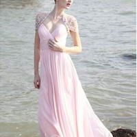 Elegant A-line Sweetheart Floor Length Chifffon Evening Dress / Prom Dress 2013 New [10104972] - US$151.99 : DressKindom