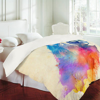 DENY Designs Home Accessories | Robert Farkas Sunny Leo Duvet Cover