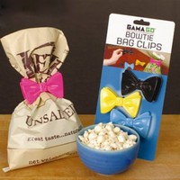 GAMAGO Bow Tie Bag Clips: Kitchen & Dining