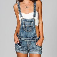 HIPPIE LAUNDRY Womens Denim Shortalls