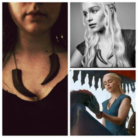 GAME OF THRONES Handmade Khaleesi Necklace