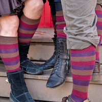Socks By Sock Dreams   Socks  Berry Cobbler Stripes