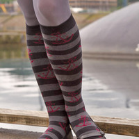 Socks By Sock Dreams   Socks  Marine Knee Highs