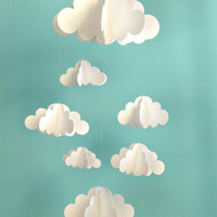 Clouds Hanging Baby Mobile