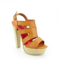 Linda Platform in Camel - ShopSosie.com