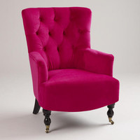 Fuchsia Nina Chair