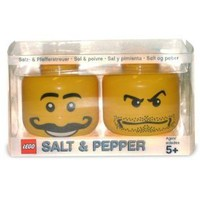 Lego Mini-figure Salt and Pepper Set: Toys & Games