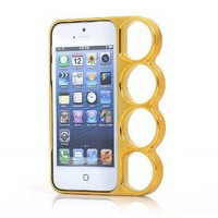 """Marmoter Machine Cut """"Knuckle Case"""" for iPhone 5: Cell Phones & Accessories"""