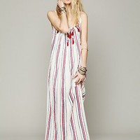 Free People Striped Unearthen Dress