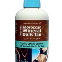 Amazon.com: Extended Vacation Moroccan Mineral - Dark Self-Tanning Lotion by Extended Vacation: Beauty
