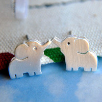 Baby Elephant Earrings