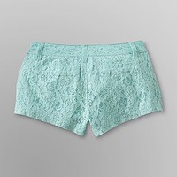 Bongo  Junior's Lace Hi-Cut Shorts