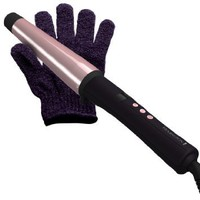 Remington CI9538  Tstudio Salon Collection Pearl Digital Ceramic Curling Wand, 1 - 1 1/2: Beauty