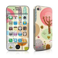 Forest Design Protective Skin Decal Sticker for Apple iPhone