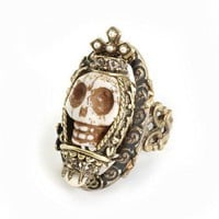 Ollipop Collection -  Bone Queen  Ring from Just Divine | Made By Sweet Romance  USA | £60.00 | Bouf