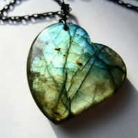 Labradorite Pendant Necklace from corinna2designs | Made By corinna2designs | £44.00 | Bouf