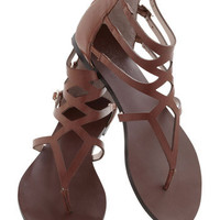 Striding Solo Sandal | Mod Retro Vintage Sandals | ModCloth.com