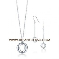 Shopping Cheap Elsa Peretti Sevillana Pendant Set At Tiffanyco925.com - Discount Tiffany Setting